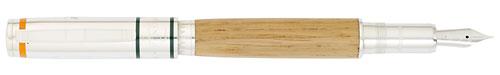 Omas Limited Editions - Solaia Wine Wood - Year: 2010 - Oak Wood of Marchesi Antinori Wine Barrel - Edition: 1200 Fountain Pens - Fountain Pen