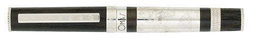 Omas Limited Editions - I Think - Year: 2009 - Sterling Silver/Oak - Edition: 809 Rollerballs - Rollerball