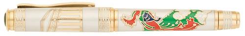 Omas Limited Editions - Phoenix - Year: 2008 - Bronze Phoenix  - Edition: 188 Fountain Pens - Fountain Pen