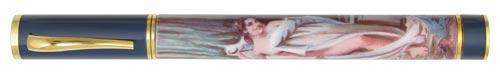 Omas Limited Editions - Giacomo Casanova - Year: 2003 - Enamel and Silver Vermeil - Edition: 725 Pens - Fountain Pen