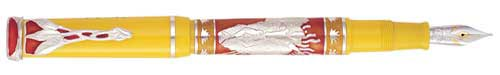 Omas Limited Editions - Mandela - Africa - Year: 1999 - Sterling Silver - Edition: 1600 Pens - Fountain Pen