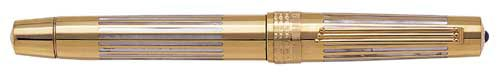 Omas Limited Editions - Roma 2000 Collection - Year: 1998 - Solid Gold with Mother of Pearl - Edition: 100 Pens - Fountain Pen