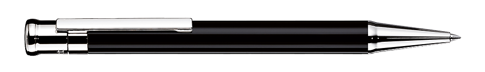 Black Shiny Lacquer   finish - Ball Pen shown