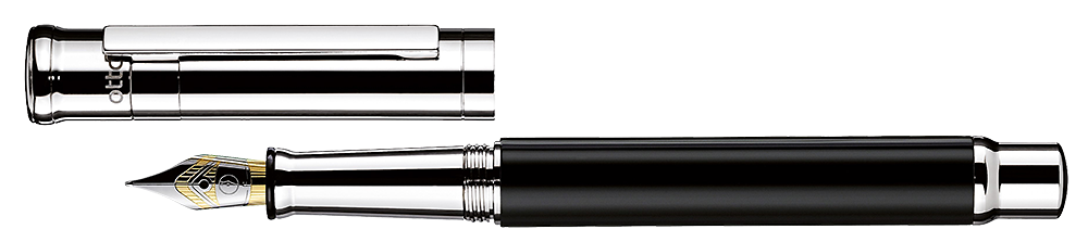 Black Shiny Lacquer   finish - Fountain Pen shown