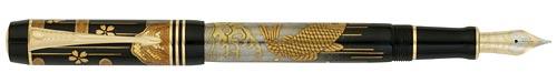 Parker Limited Editions - Duofold Maki-e Carp - Year: 2008 - Edition: 288 Pens - Fountain Pen