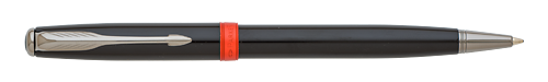 Subtle Big Red finish - Ball Pen   shown