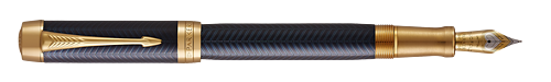 Blue Chevron finish - Centennial Fountain Pen shown