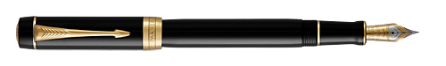 Black GT  finish - Centennial Fountain Pen shown