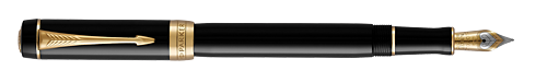 Black GT   finish - International Fountain Pen shown