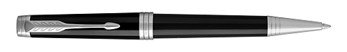 Lacquer Deep Black ST finish - Ball Pen shown