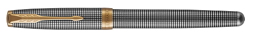 Sterling Silver Cisele finish - Rollerball shown