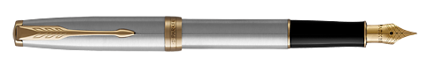 Stainless Steel GT finish - Fountain Pen shown