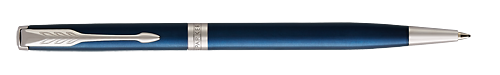 Blue Satined Lacquer finish - Ball Pen shown