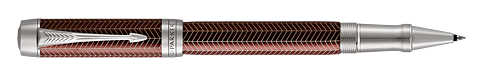 Burgundy Chevron  finish - Rollerball shown