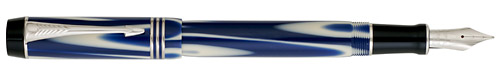 Parker Limited Editions - Duofold True Blue - Year: 2007 - True Blue   - Edition: 5,000 - Fountain Pen