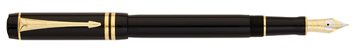 Black w/Gold Trim finish - International Fountain Pen shown