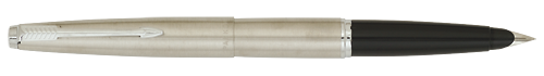 45 Flighter Stainless - Chrome Trim finish - Fountain Pen shown