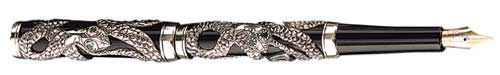 Parker Limited Editions - The Snake - Sterling Silver - Year: 1997 - Edition: 5,000 Pens