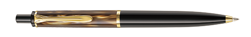 Marbled Brown finish - Ball Pen  shown