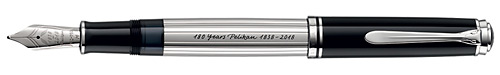 Pelikan Limited Editions - Spirit of 1838 - Year: 2018 - Sterling Silver (25 Pens USA) - Edition: 180 Pens - Fountain Pen