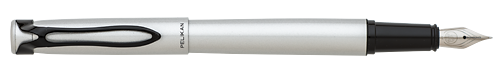 Metal   finish - Fountain Pen shown