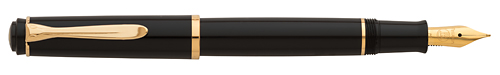 Black/Gold Trim finish - Fountain Pen shown