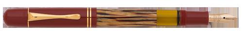 Pelikan Limited Editions - Red Tortoiseshell M101N - Year: 2014 - Red & Tortoiseshell   - Edition: Special Edition - Fountain Pen (14kt Gold Nib)