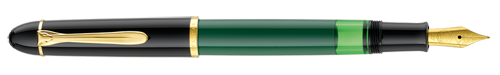 Green & Black  finish - Fountain Pen shown