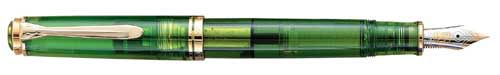 Pelikan Limited Editions - M800 Green Demonstrator-1992 - Year: 1992 - Edition: 3,000 Pens - Fountain Pen(Never Inked;Original Box/Paperwork)