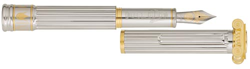 Pelikan Limited Editions - Temple of Artemis - Year: 2006 - Silver - Edition: 440 Pens - Fountain Pen (M1000 size - 18 kt Nib)