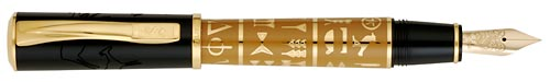 Pelikan Limited Editions - Evolution of Script - Year: 2007 - Black & Gold - Edition: 930 Pens Worldwide - Fountain Pen