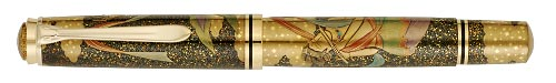 Pelikan Limited Editions - Heavenly Maidens of Dunhuang - Year: 2007 - Maki-e - Edition: 88 Pens Worldwide - Fountain Pen