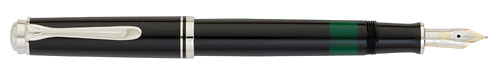 Black/Silver finish - Fountain Pen shown