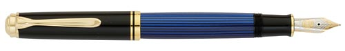 800 - Blue finish - Fountain Pen shown