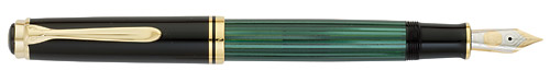 800 - Green finish - Fountain Pen shown