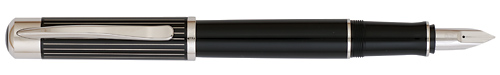 Black/Silver finish - Fountain Pen (CARTRIDGE FILL ONLY) shown