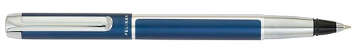 Blue & Silver finish - Rollerball shown