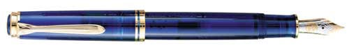 Pelikan Limited Editions - Blue Ocean - Year: 1994 - Translucent Blue  - Edition: 3,000 Pens - Fountain Pen
