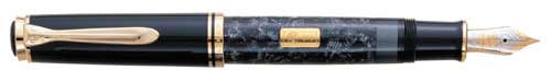Pelikan Limited Editions - Wall Street - Year: 1995 - Edition: 2,600 Pens - Fountain Pen + Matching Ball Pen