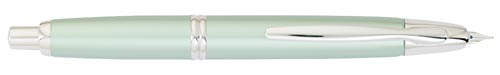 Pilot & Namiki Limited Editions - Vanishing Point - Year: 2010 - Green Ice - Fountain Pen(18 kt Gold Nib)