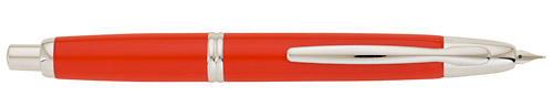 Pilot & Namiki Limited Editions - Vanishing Point Fountain Pen - Year: 2009 - Brilliant Red - Edition: 2,000 Pens - Vanishing Point(18 kt Gold Nib)