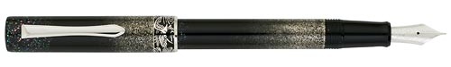 Pilot & Namiki Limited Editions - Toki Raden 90th Anniversary - Year: 2008 - Black/Sterling Silver/Mother of Pearl - Edition: 900 Pens - Fountain Pen