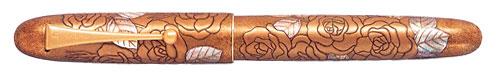 Pilot & Namiki Limited Editions - Yukari Royale Golden Rose - Year: 2011 - Edition: 150 Fountain Pens - Fountain Pen