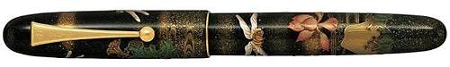 Pilot & Namiki Limited Editions - Kachimushi - Year: 2013 - Maki-e - Edition: 150 Fountain Pens - Yukari Royale Fountain Pen