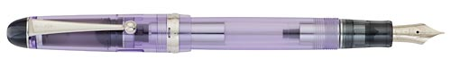 Custom 74 Violet Demonstrator finish - Fountain Pen shown