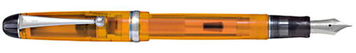 Custom 74 Orange Demonstrator finish - Fountain Pen shown