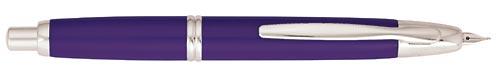 Pilot & Namiki Limited Editions - Vanishing Point Purple - Year: 2008 - Purple  - Edition: 2008 Pens - Fountain Pen(Cartridge/Converter-18 kt gold Nib)