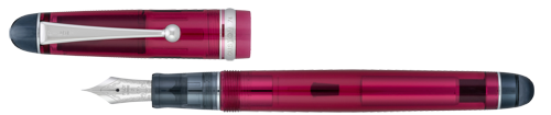 Custom 74 Merlot Demonstrator finish - Fountain Pen shown