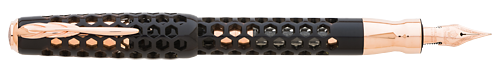 Pineider Limited Editions - Honeycomb - Year: 2019 - Black Prince - Edition: 888 Pens - Fountain Pen