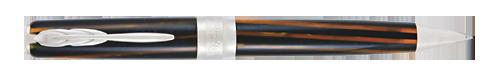 Pineider Limited Editions - Arco Blue Bee - Year: 2020 - Dark Blue & Amber - Ball Pen